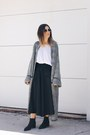 Black-suede-acne-boots-black-front-row-shop-pants-heather-gray-zara-cardigan