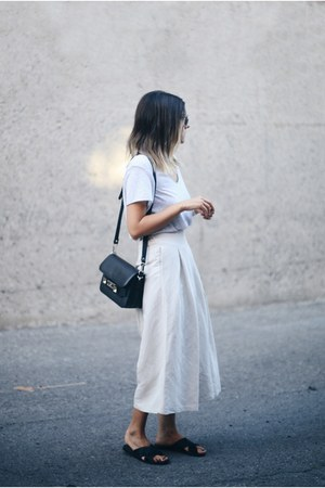 black PROENZA SCHOULER bag - off white OAK  FORT pants