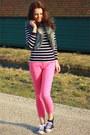 Primark-top-fur-primark-vest-pink-zara-pants