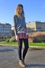 Isabel-marant-boots-new-yorker-sweater-zara-skirt
