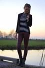 Alysa-boots-h-m-blazer-primark-top-h-m-pants