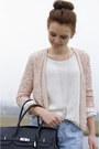 Black-leather-mynewbag-bag-cream-knitted-vila-sweater