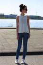 Zara-jeans-white-zara-top