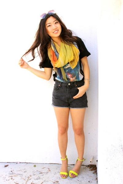 Prabal Gurung heels - tee-shirt La Force tee shirt