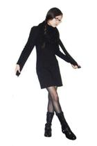 Yesstyle dress - H&M scarf - No Nonsense tights - etienne aigner boots - socks