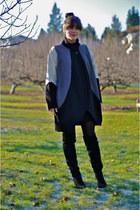 Dolce Vita boots - vintage coat