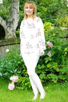 pink melissas vivienne westwood flats - bubble gum Republic jeans