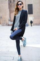black goldenpoint pants - black H&M jacket - gray goldenpoint t-shirt