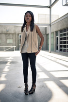 Club Monaco vest - Habitual jeans - All Saints top