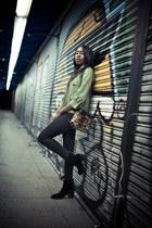 ASH boots - Siwy jeans - smythe jacket - Isabel Marant shirt