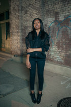 thakoon boots - J Brand jeans - Stella McCartney jacket