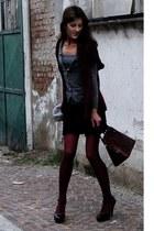 H&M blazer - Calzedonia stockings