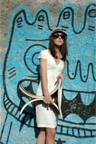 H&M ring - H& dress - Goorin Brothers hat - Ray Ban sunglasses