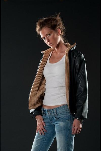 michela alberti Jacket jacket - jeans - underwear intimissimi shirt