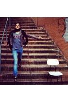 Diesel jeans - Geiko shoes - Colcci jacket - shirt - Diesel bag