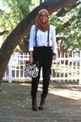 Zara-pants-bakers-clogs-gap-shirt-scarf-old-navy-bag