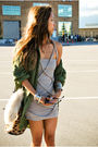 Pink-the-scarlet-room-dress-green-used-jacket-beige-alexander-wang-purse
