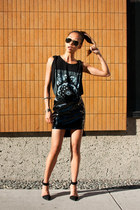 black h&m divided skirt - black liya Alexander Wang shoes