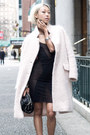 Black-noe-undergarments-dress-light-pink-h-m-coat-black-alexander-wang-purse