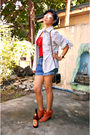 Boots-shorts-top-blouse-esprit-accessories-accessories
