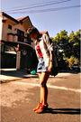 Boots-shorts-top-blouse-esprit-accessories-accessories