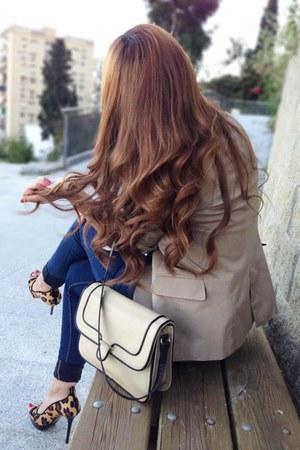 Zara blazer - pull&bear jeans - Zara heels - Primark top