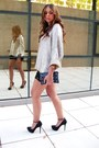 Zara-sweater-zara-bag-zara-shorts-b-ershka-heels-vintage-watch