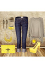 Yellow-platform-ax-paris-shoes-blue-boyfriend-jeans-current-elliott-jeans