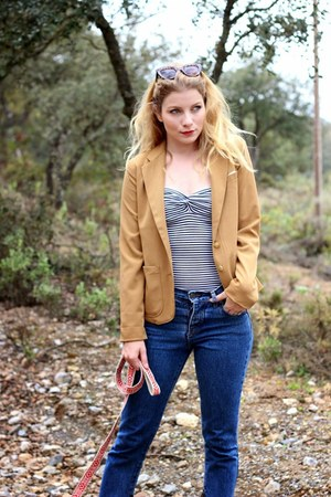 blue Objects Without Meaning jeans - camel Forever 21 blazer