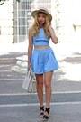 Tan-ale-hop-hat-white-michael-kors-purse-sky-blue-stylemoinu-shorts