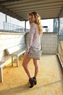 Heather-gray-aldo-boots-pink-zara-blazer-beige-kate-spade-purse