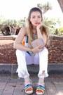 White-zara-jeans-light-pink-ysl-bag-sky-blue-chloe-sandals