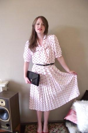 polka polka Vintage Jazz Emporium dress - Dress dress - black 80s Vintage jazz e