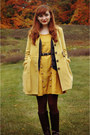 Dark-brown-younkers-boots-mustard-modcloth-dress