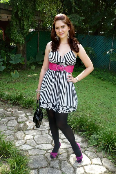 Trendsepatupria Black And Pink Dress Shoes Images