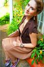 Gold-dwarves-ring-disney-couture-ring-camel-a-line-dress-forever-21-dress