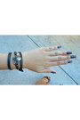 Dark-brown-leather-chloe-isabel-bracelet