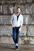 Barcuta jacket - dr scholls boots - DSTLD jeans - BDG t-shirt