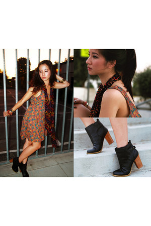 H&M boots - Forever 21 dress