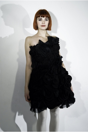 black Zsofia weber dress