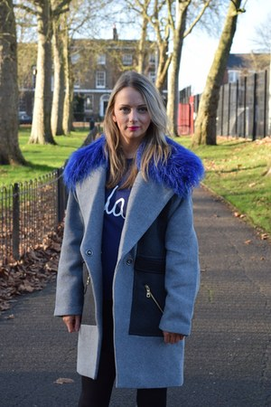 Three Floor coat - asos jumper