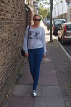 Tom Ford sunglasses - asos jeans - new look flats