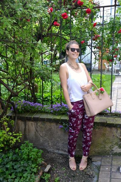 Prada bag - Zara heels