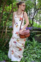vintage bag - Zara dress