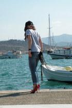 Bershka pumps - Staff jeans - Rebecca Minkoff bag - Vans t-shirt
