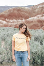 Sky-blue-citizens-of-humanity-jeans-light-yellow-mate-the-label-t-shirt