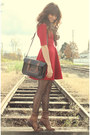 Black-the-leather-satchel-co-bag-dark-brown-vintage-boots