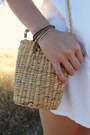 White-the-white-pepper-dress-camel-vintage-bag-dark-brown-bracelet