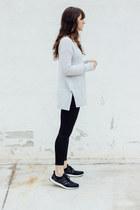 off white Lou & Grey sweater - black Lou & Grey jeans - black Adidas sneakers