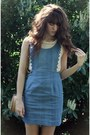 Sky-blue-jean-dahlia-dress-camel-vintage-bag-off-white-lace-top